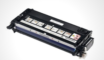Image of   Dell PF030 BK (593-10170) Lasertoner,sort. Original, 8000 sider