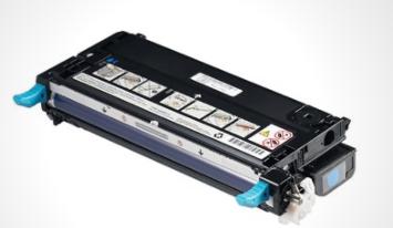 Image of   Dell PF029 C (593-10171) Lasertoner,cyan. Original, 8000 sider