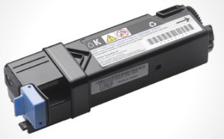 Image of   Dell DT615 BK (593-10258) Lasertoner,sort. Original, 2000 sider