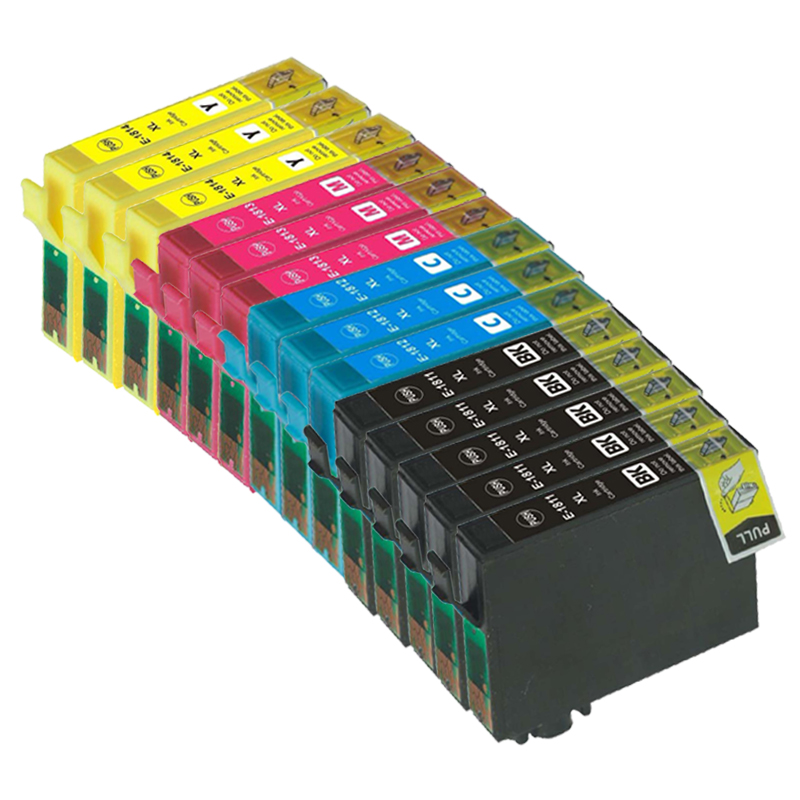 Image of   Epson 18 XL multipack 14 stk (226 ml) T1815
