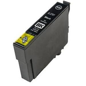 Epson 27XL T2711 BK Sort kompatibel blækpatron (32 ml)