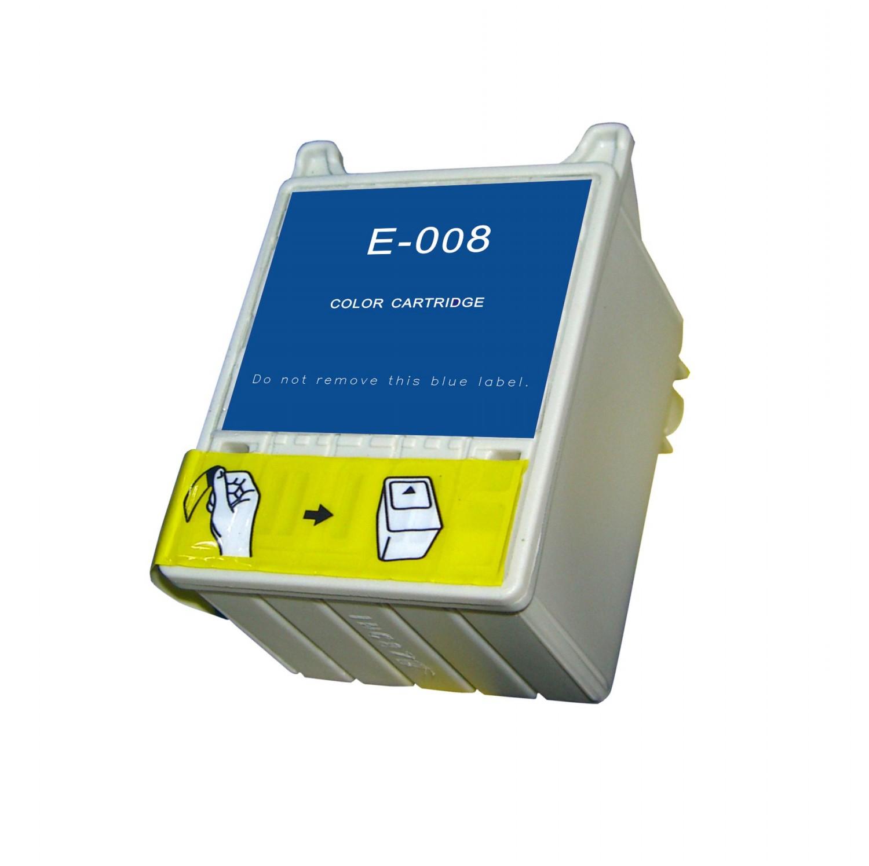 Image of   Epson T008 C/M/Y/LC/LM farve kompatibel blækpatron (42 ml)