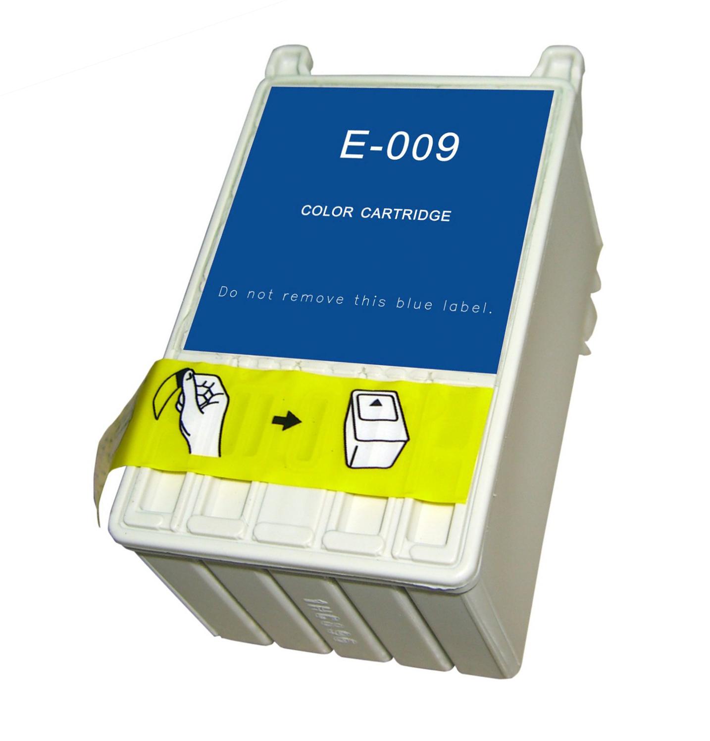 Image of   Epson T009 C/M/Y/LC/LM farve kompatibel blækpatron (63 ml)