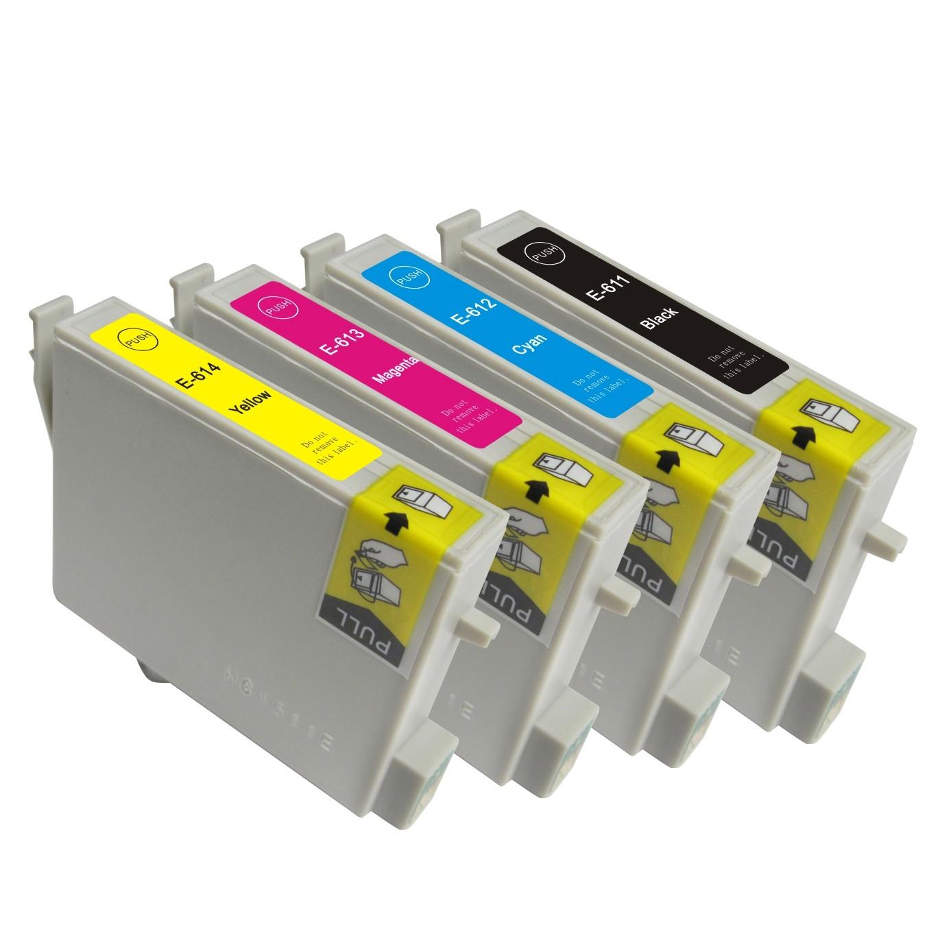 Epson T0611 / T0612 / T0613 / T0614 Sampak 5 stk (91 ml)