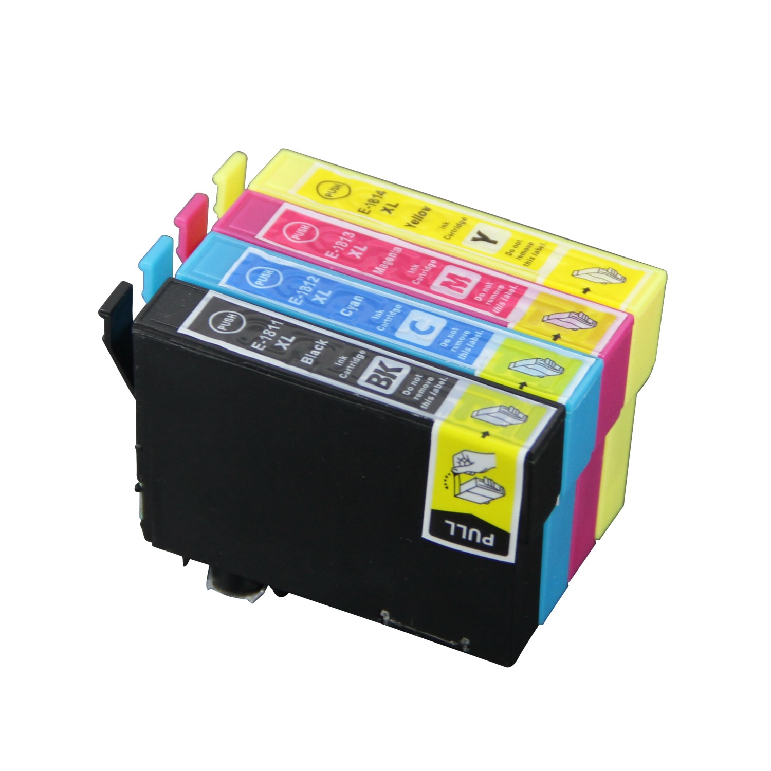 Epson 18 XL multipack 4 stk (63 ml) T1815