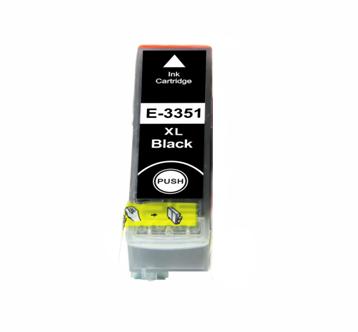 Image of   Epson 33XL T3351 BK, Sort kompatibel blækpatron (22 ml)