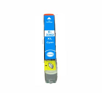 Image of   Epson 33XL T3362 C Cyan kompatibel blækpatron (13 ml)