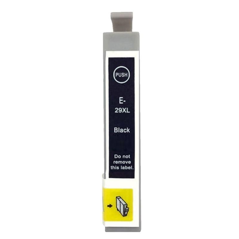 Epson 29XL T2991 BK, Sort kompatibel blækpatron (18,2 ml)