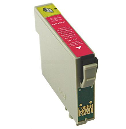 Image of   Epson 18XL M (T1813) Magenta kompatibel blækpatron, 15ml