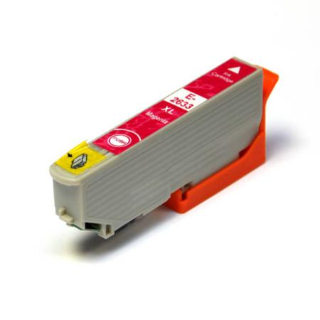 Image of   Epson 26XL T2633 M, Magenta, kompatibel blækpatron 12 ml