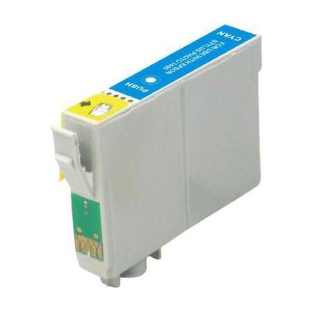 Image of   Epson T0442 C Cyan kompatibel blækpatron (18,2 ml)
