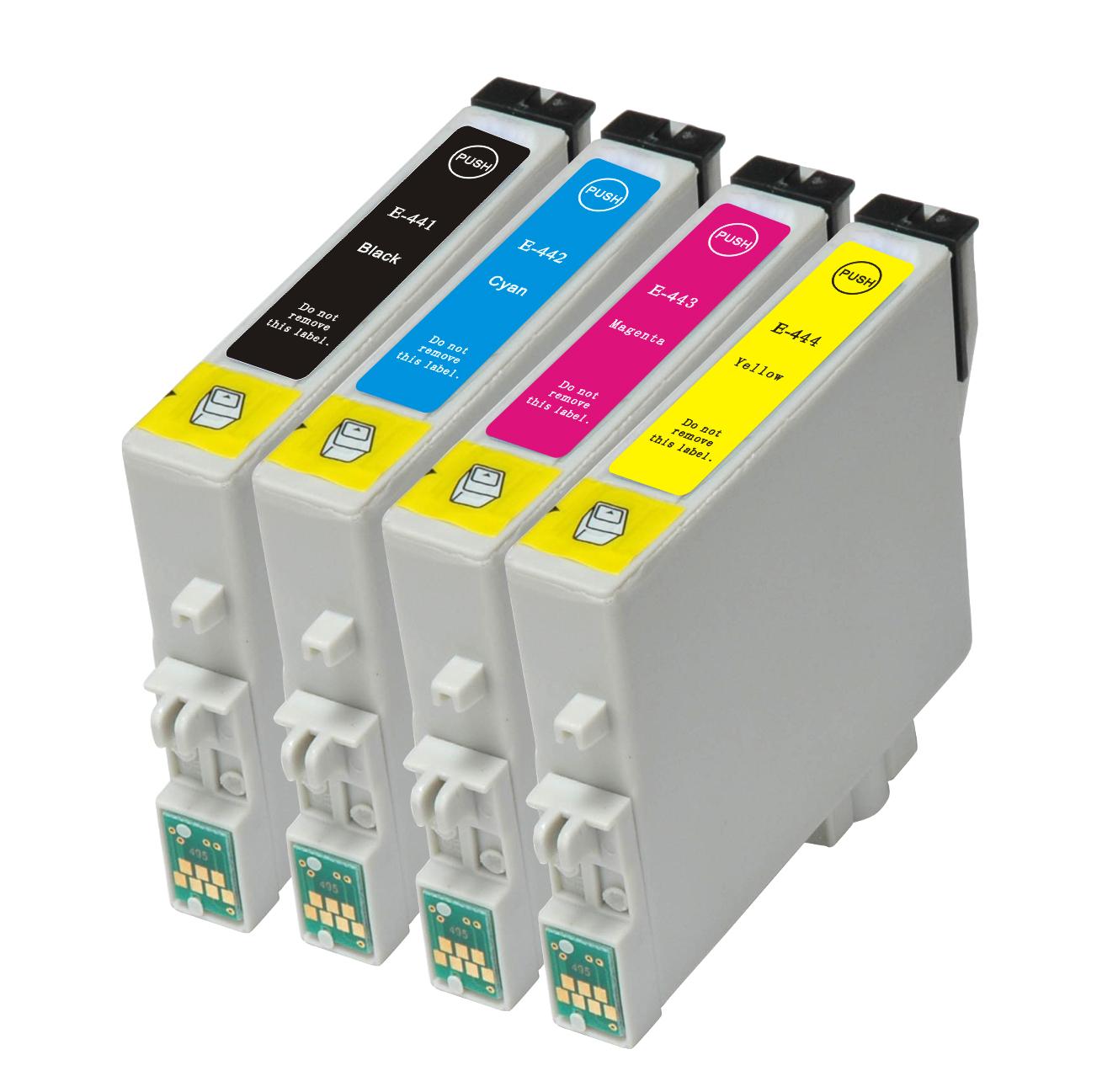 Image of   Epson T0441 / T0442 / T0443 / T0444 Sampak 4 stk (72,8 ml)