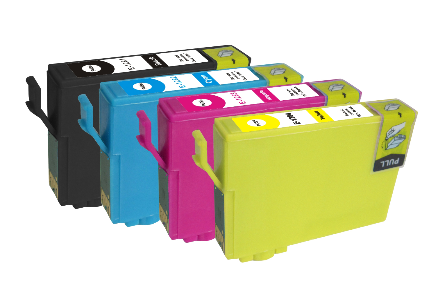 epson t1281 t1282 t1283 t1284 set of 5 ink cartridges. Black Bedroom Furniture Sets. Home Design Ideas