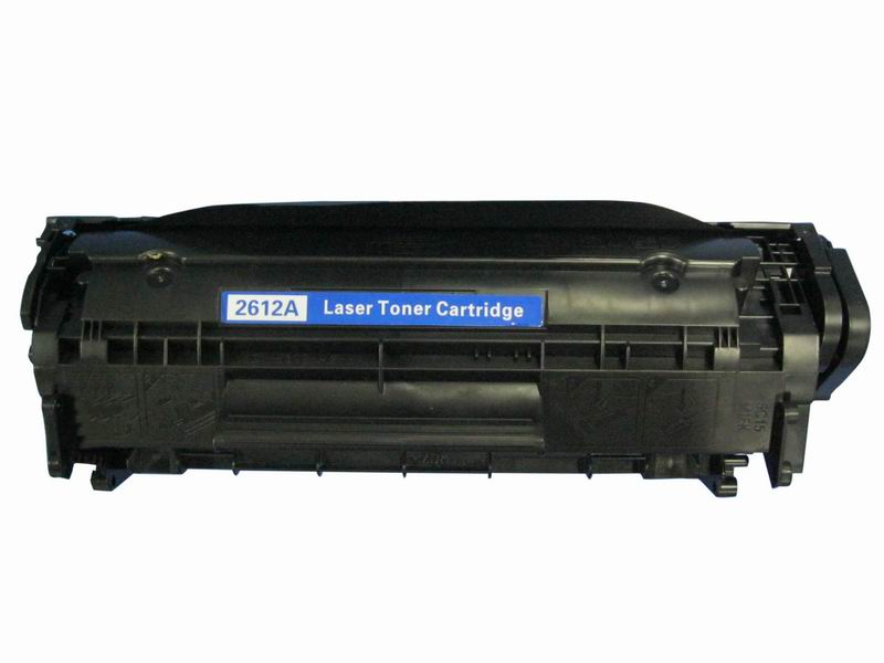 Image of   HP 12A (Q2612A) Lasertoner sort, kompatibel (2000 sider)