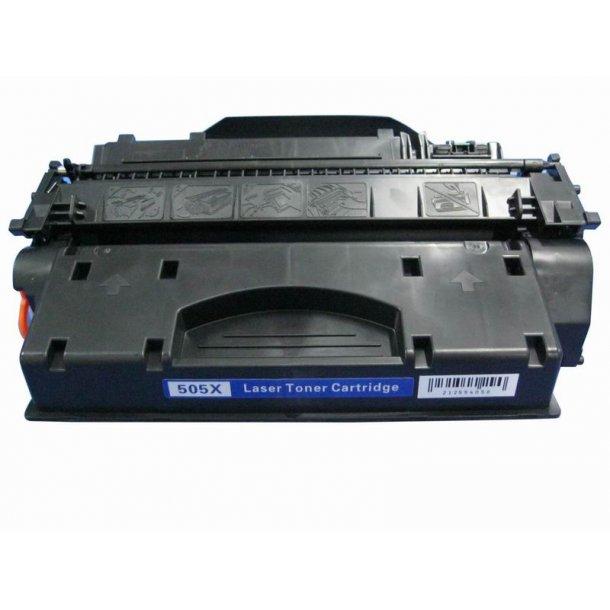 HP CE505X (HP 05A XL) Lasertoner sort, (6500 sider)