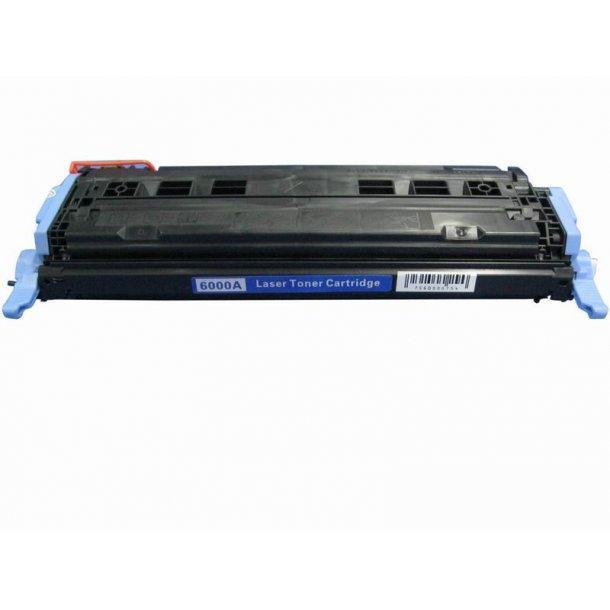 HP 124A (Q6000A) Lasertoner sort, (2500 sider)