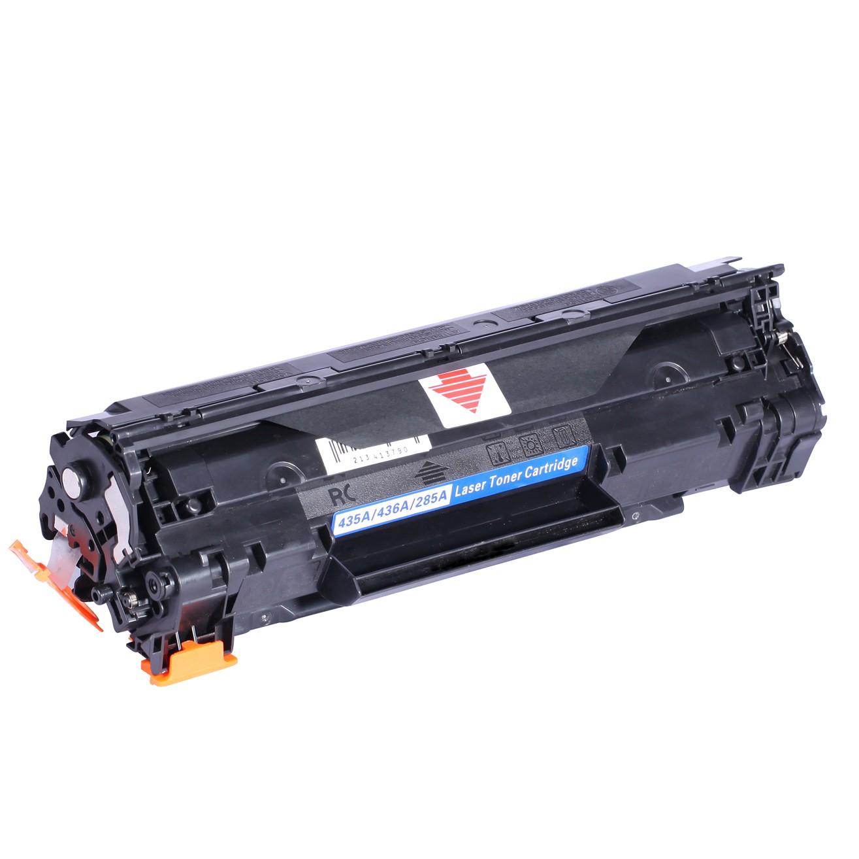 Image of   HP 435A/436A/285A BK Lasertoner sort, kompatibel (2000 sider)