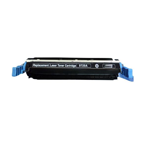 Image of   HP C9720A BK (HP 641 A) Lasertoner, sort, Kompatibel, 9000 sider