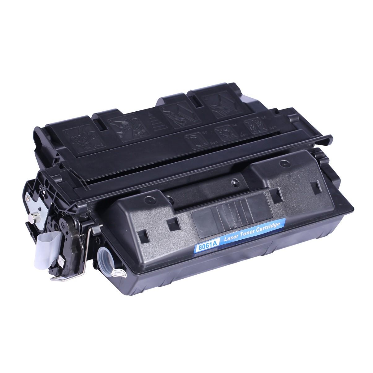 Image of   HP C8061A (61A) Lasertoner, sort, kompatibel (6000 sider)