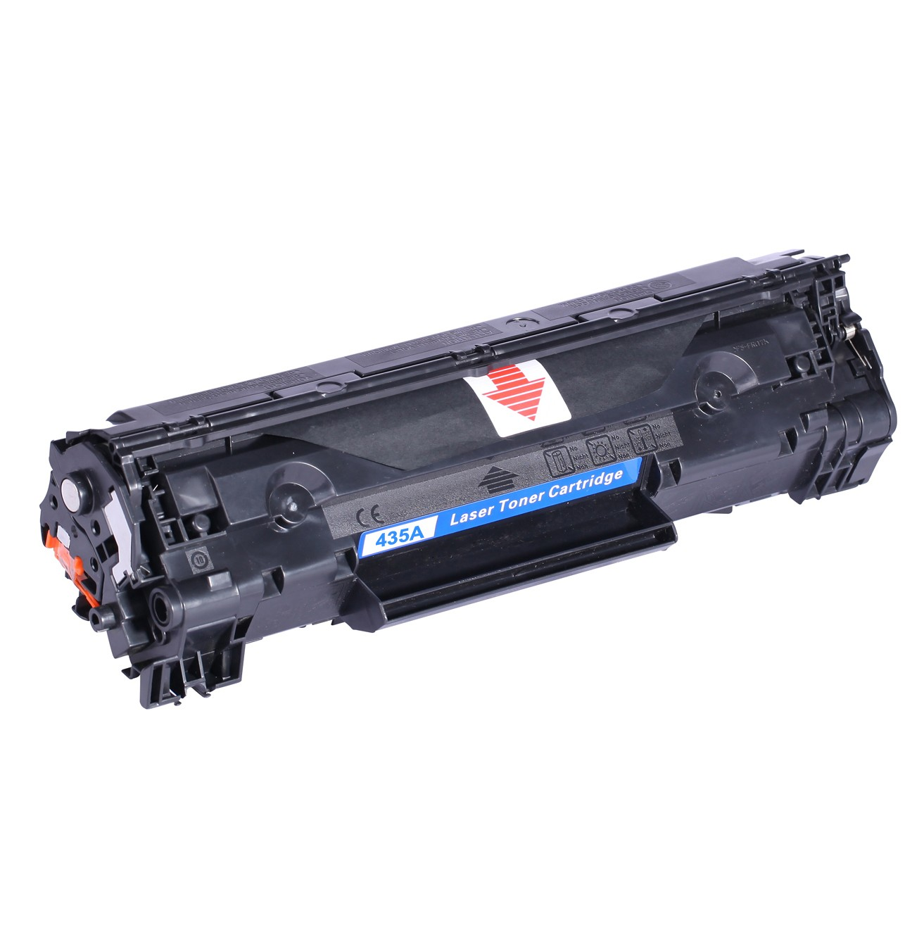 Image of   HP CB435A (35A) Lasertoner sort, kompatibel (1500 sider)