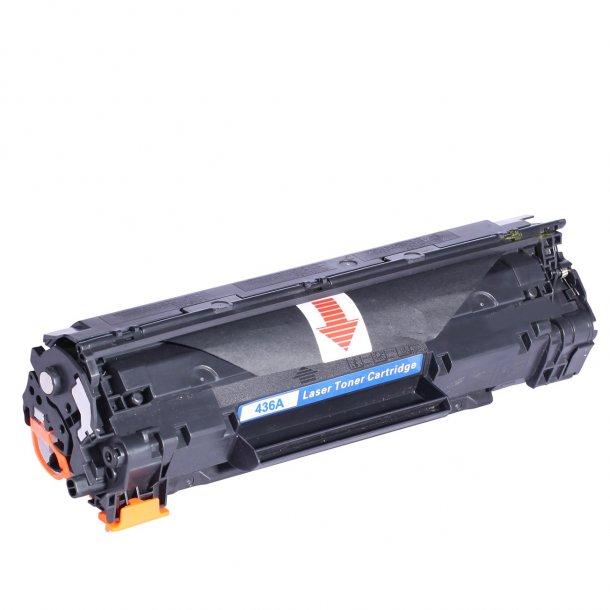 HP CB436A (36A) Lasertoner, sort, (2000 sider)