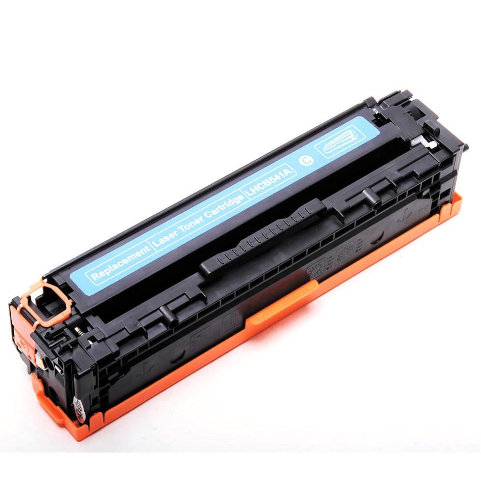 Image of   HP 125A (CB541) Lasertoner Cyan, kompatibel (1400 sider)