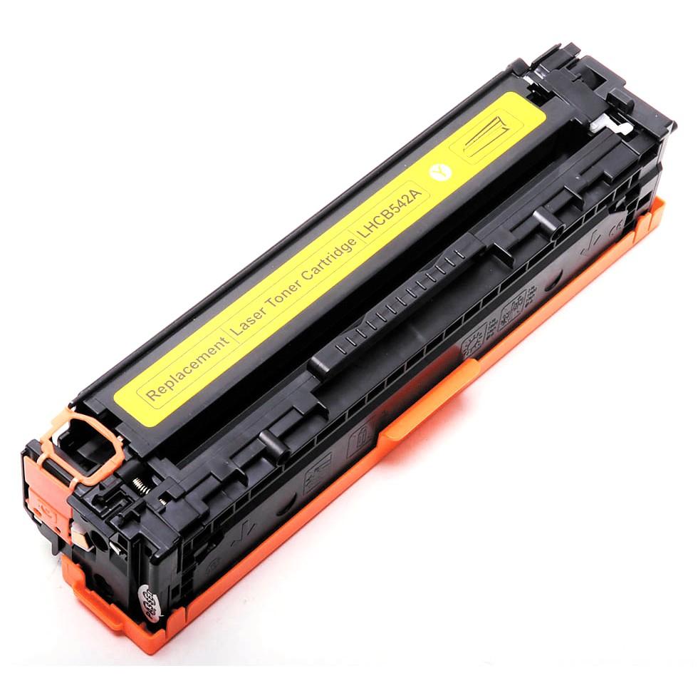 Image of   HP 125A (CB542) Lasertoner Gul, kompatibel (1400 sider)