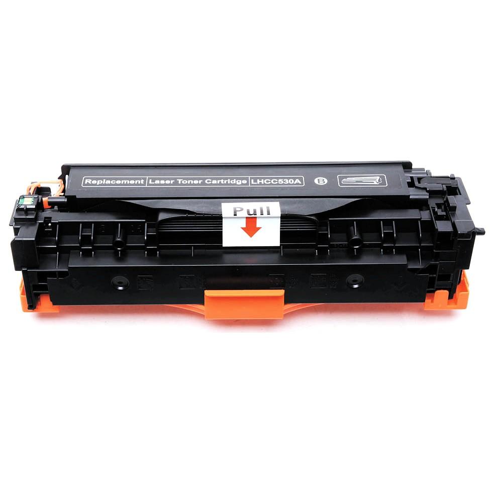 Image of   HP 530A/410A (CC530A) BK Lasertoner sort, kompatibel (3500 sider)