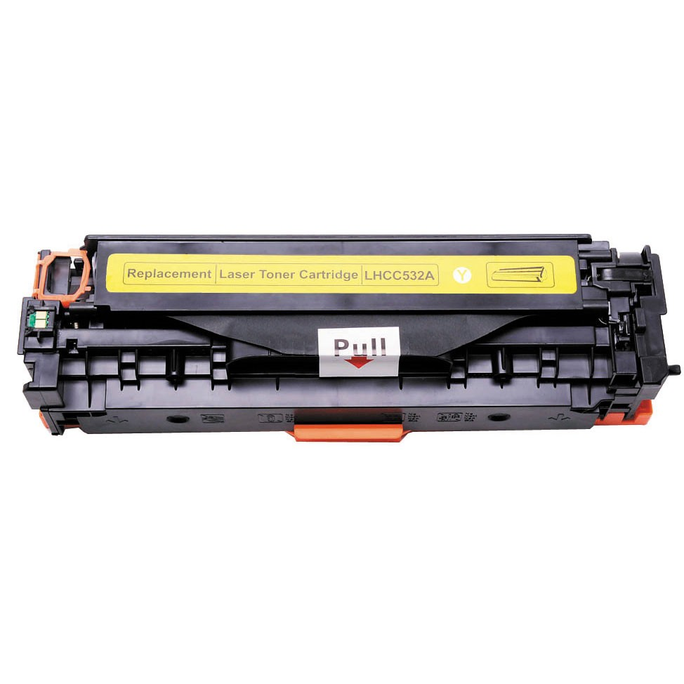 Image of   HP 532A/412A (CC532A) Y Lasertoner gul, kompatibel (2800 sider)