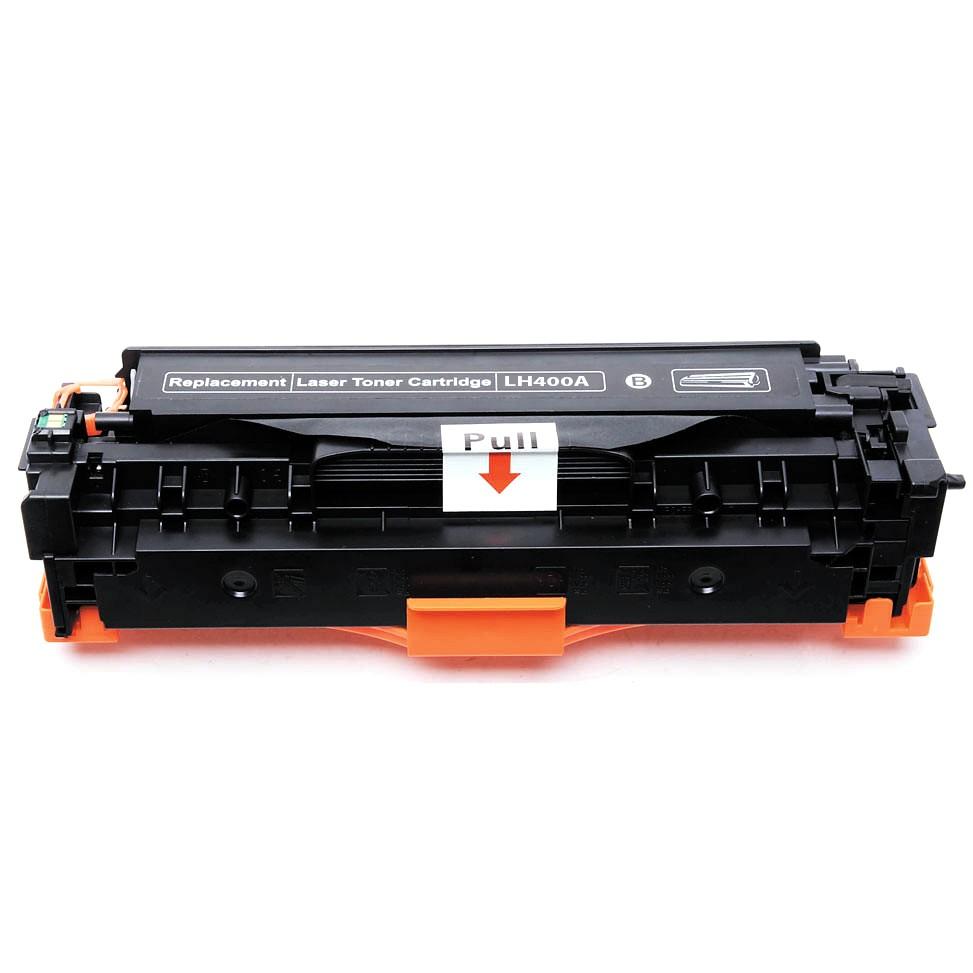 Image of   HP CE400X BK (HP 507X) Lasertoner,sort.Kompatibel,11000 sider