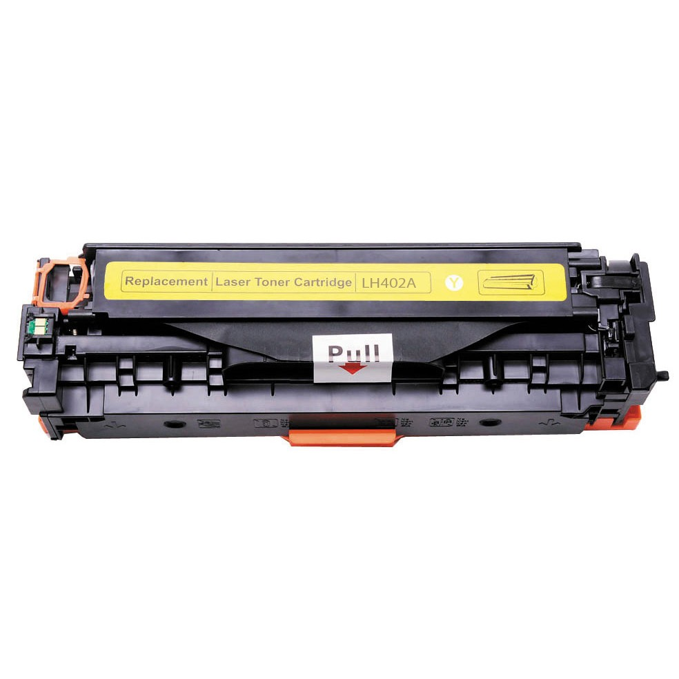 Kompatibel HP CE402A Y HP 507A Lasertoner, Gul, , 6000 sidor