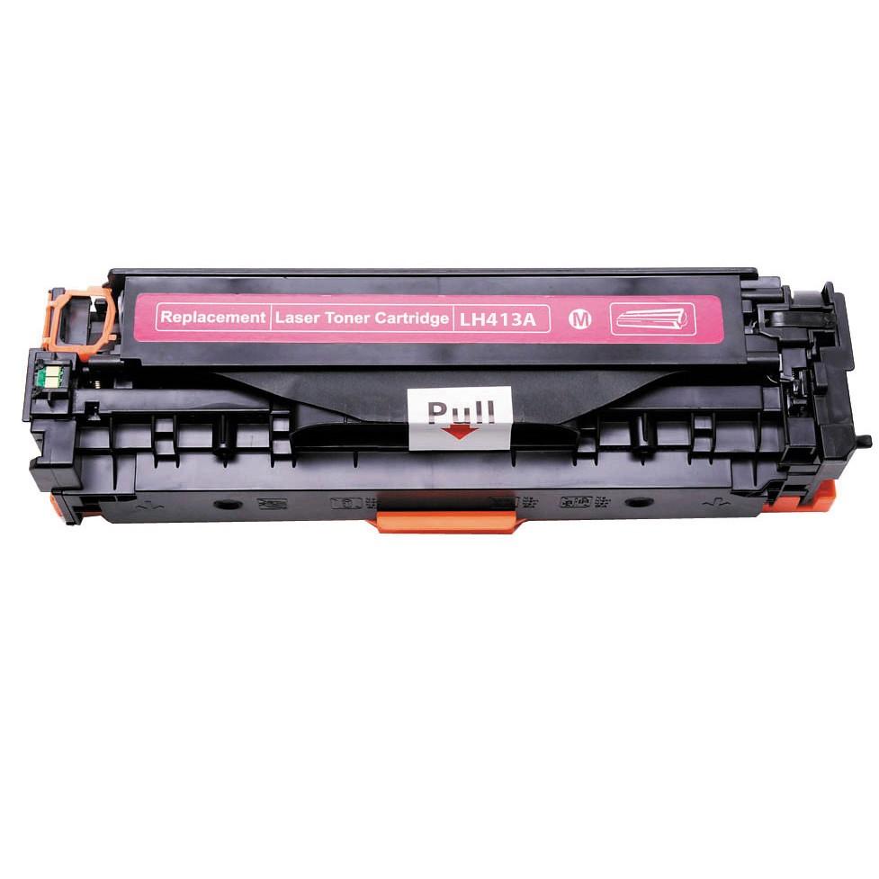 Kompatibel HP CE413A M HP 305A Lasertoner, Magenta, , 2600 sidor