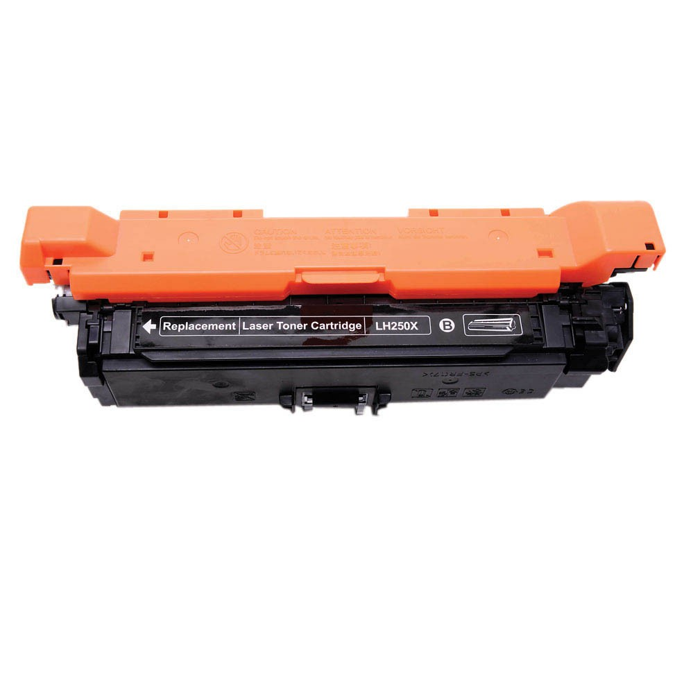 Image of   HP CE250X BK (HP 504A)Lasertoner, sort.Kompatibel,10500 sider