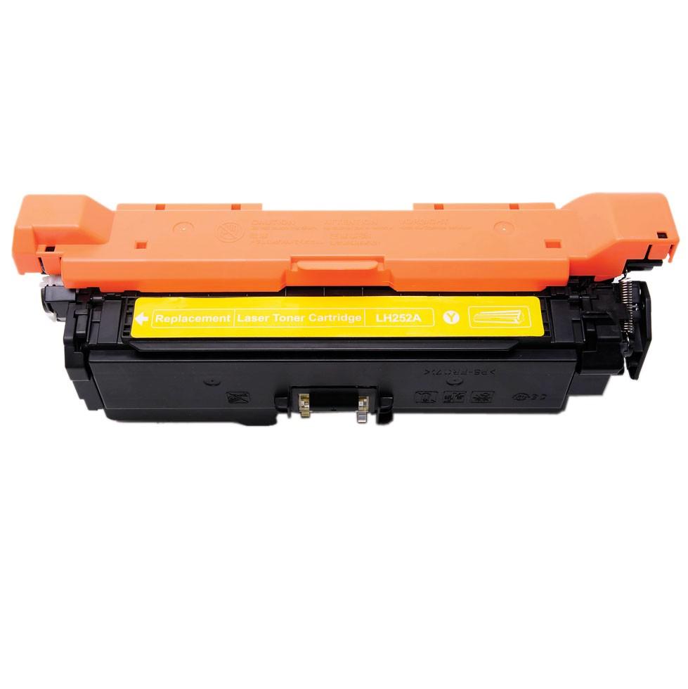 Image of   HP CE252A Y (HP 504A) Lasertoner, Gul, kompatibel, 7000 sider