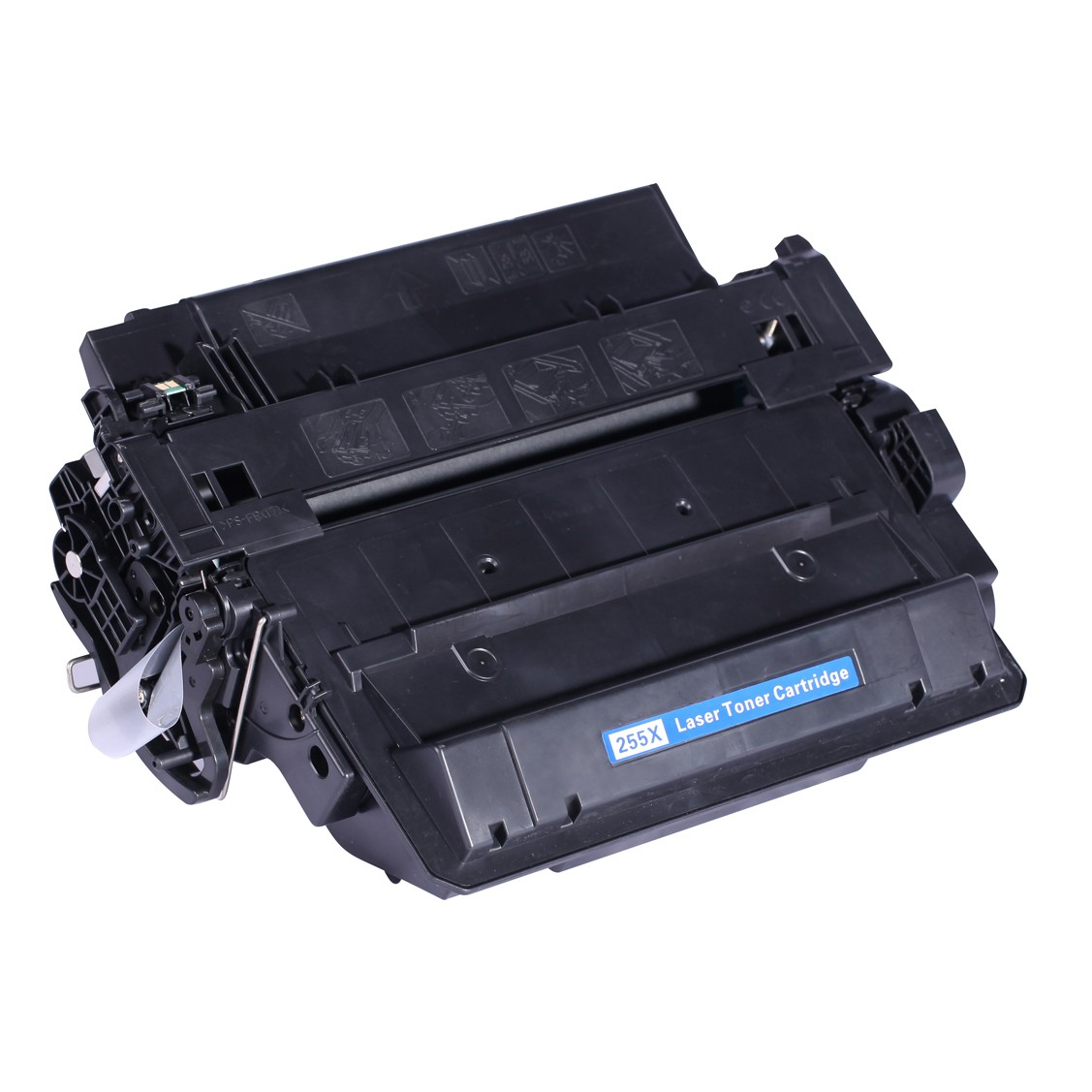 Image of   HP CE255X (55X) Lasertoner, sort, kompatibel (12500 sider)