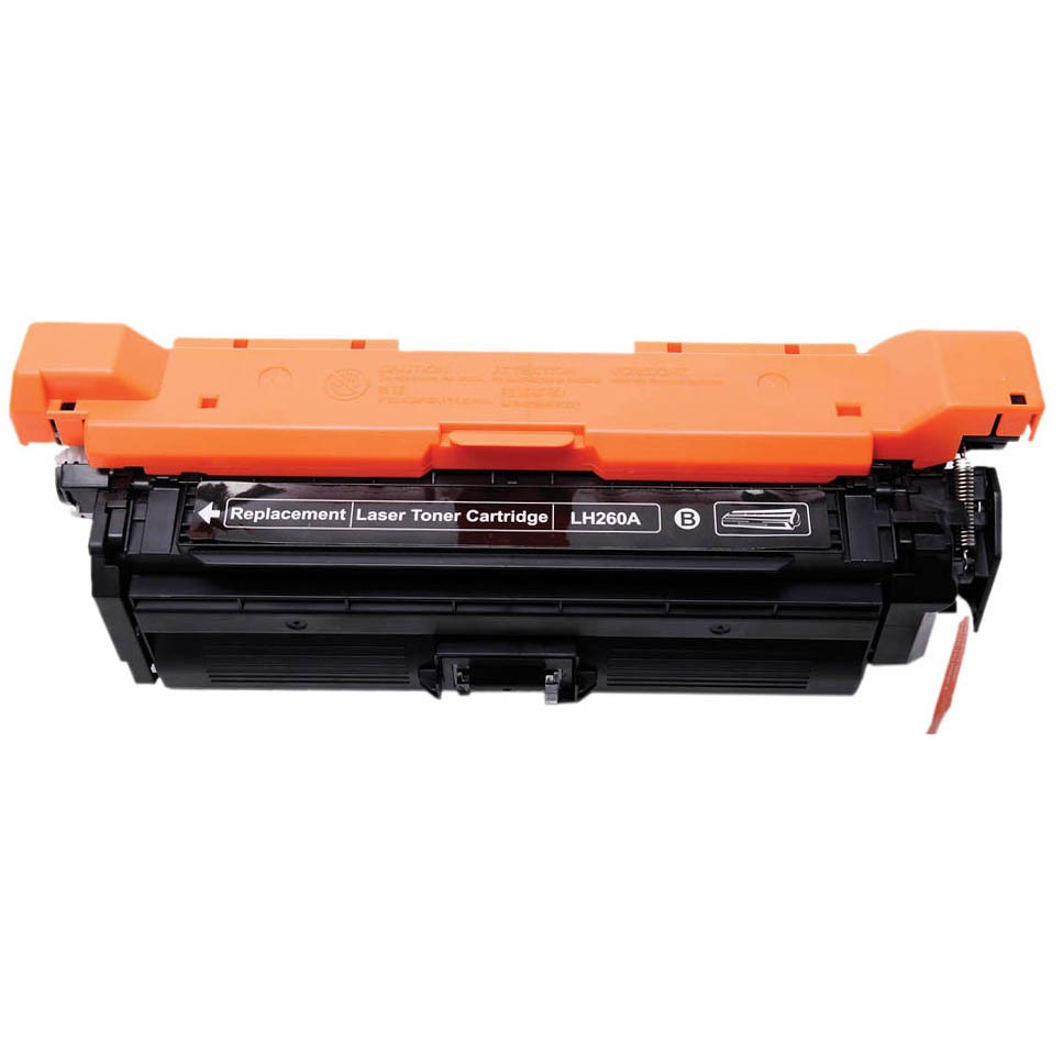 Image of   HP CE260A BK (HP 647A) Lasertoner, sort.Kompatibel, 8500 sider