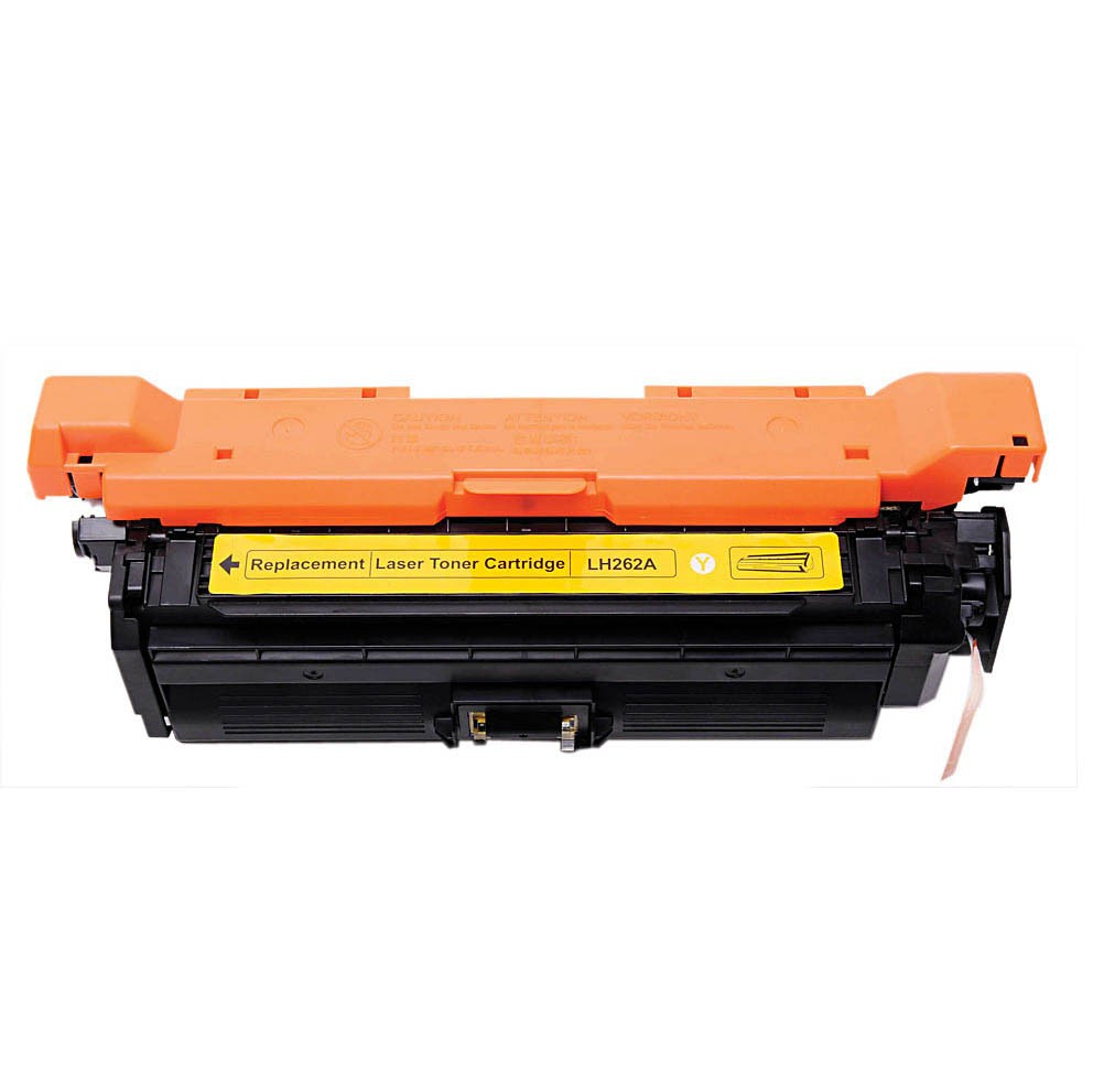 Image of   HP CE262A Y (HP 648A) Lasertoner, Gul, kompatibel, 11000 sider
