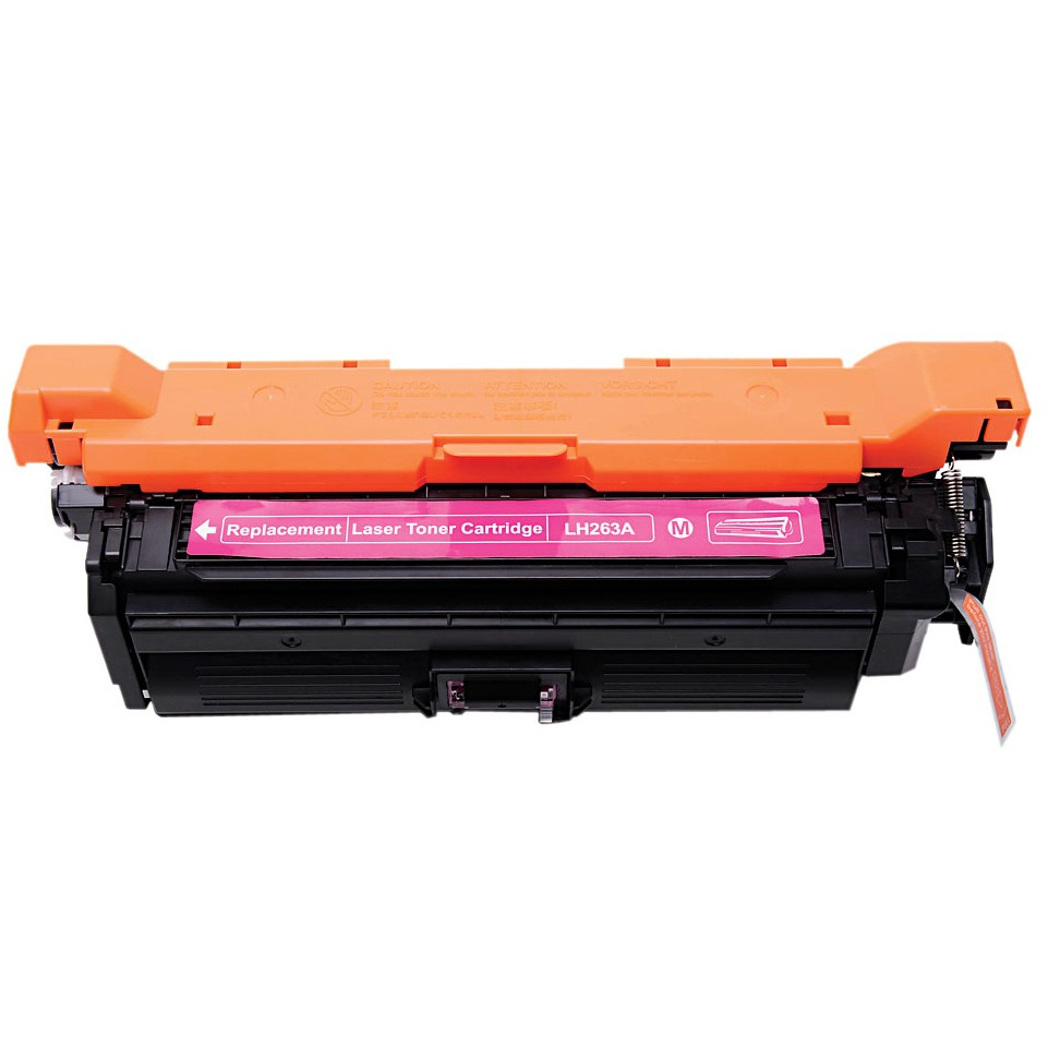 Image of   HP CE263A M (HP 648A) Lasertoner, Magenta, kompatibel, 11000 sider