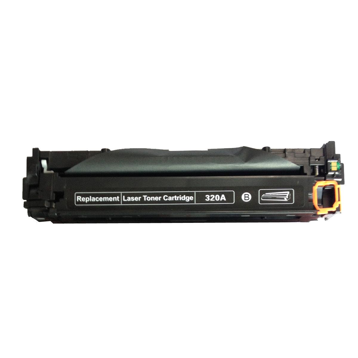 Image of   HP CE320A (128A) E320 Lasertoner, sort, kompatibel (2000 sider)