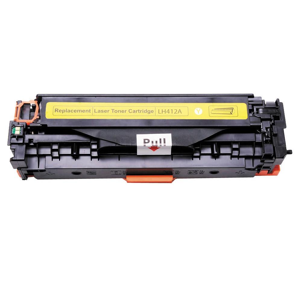 Kompatibel HP CE412A Y HP 305A Lasertoner, Gul, , 2600 sidor