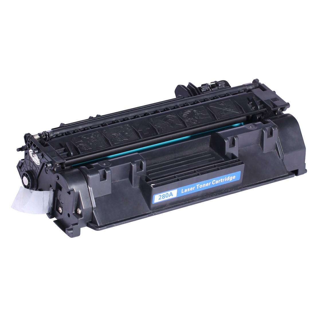 Image of   HP 80A (CF280A) Lasertoner, sort, kompatibel (2700 sider)