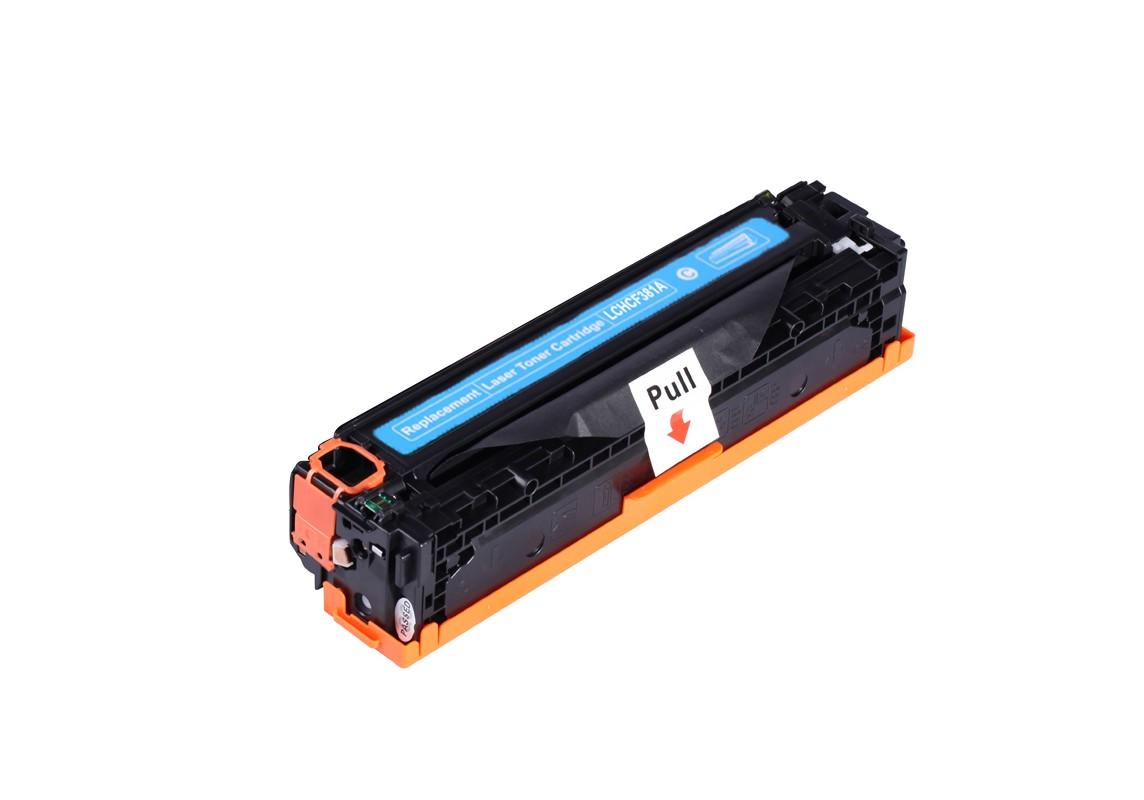 Image of   HP 381A (CF381A) C Lasertoner cyan, kompatibel (2700 sider)