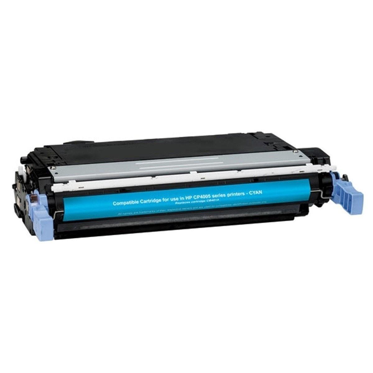 Image of   HP CB401A C (HP 642A) Lasertoner,Cyan.Kompatibel,7500 sider