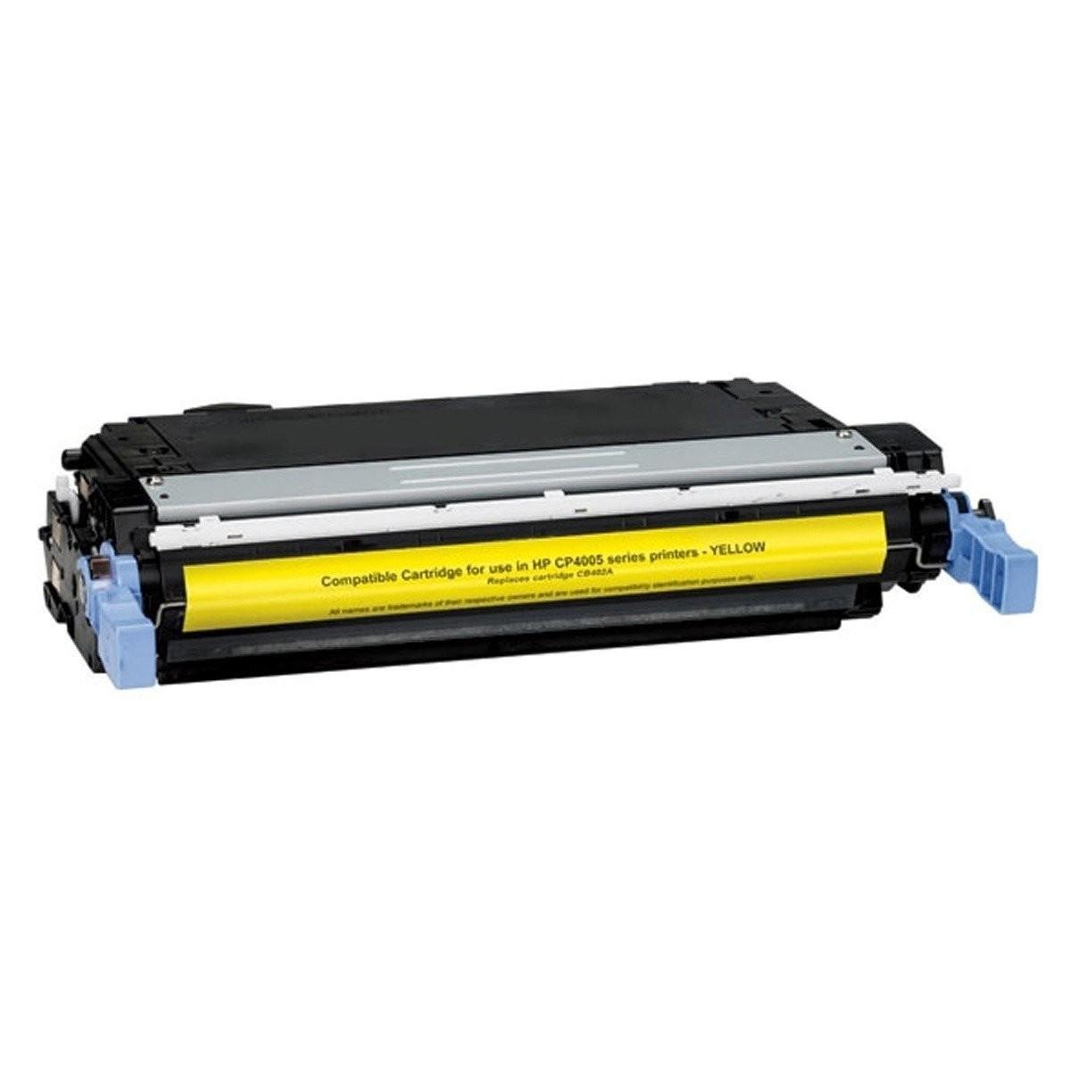Image of   HP CB402A Y (HP 642A) Lasertoner,Gul.Kompatibel,7500 sider