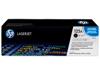 Image of   HP CB540A BK sort lasertoner, Original