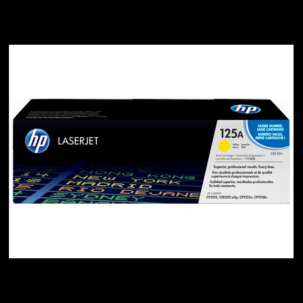 HP CB542A Y Gul Lasertoner,