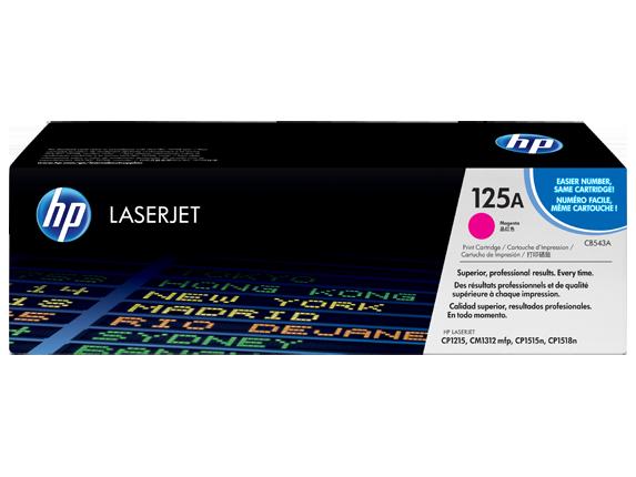 Image of   HP CB543A M Magenta Lasertoner, Original