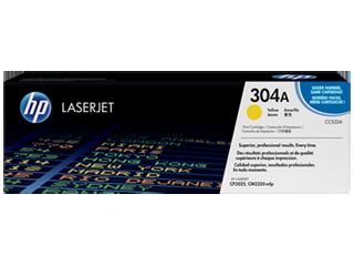 Image of   HP CC532A Y Gul Lasertoner, Original