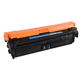 Image of   HP CE271A C (HP 650A) Lasertoner, Cyan, kompatibel, 15000 sider