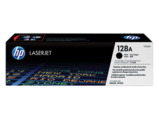 Image of   HP CE320A BK sort Lasertoner, Original